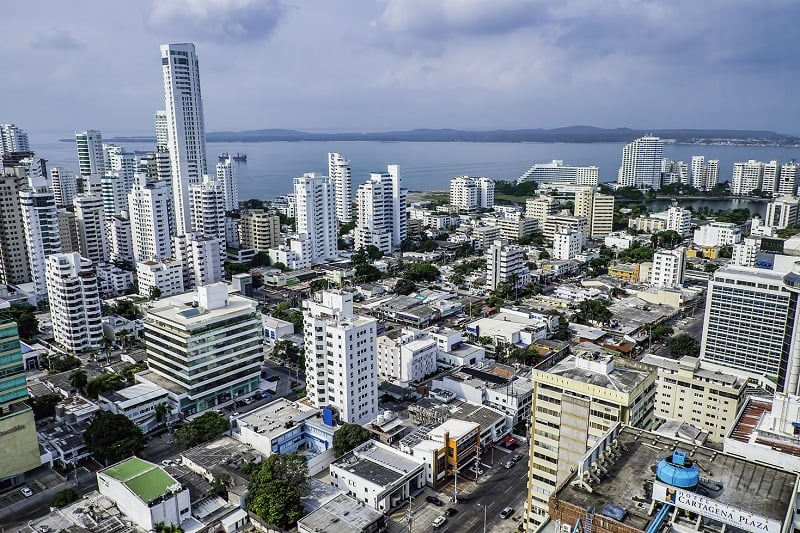 Ficar hospedado em Bocagrandeem Cartagena