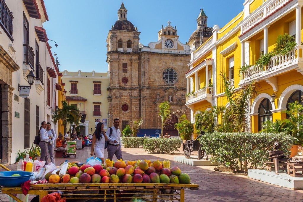 Centro de Cartagena, Colômbia