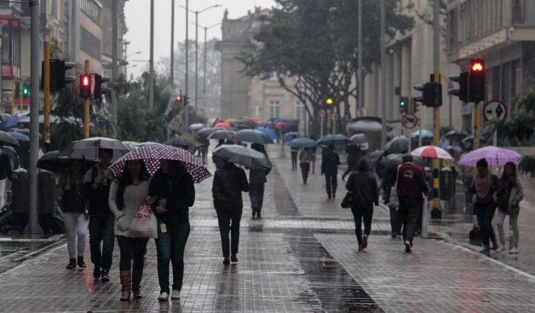 Chuvas na Colômbia