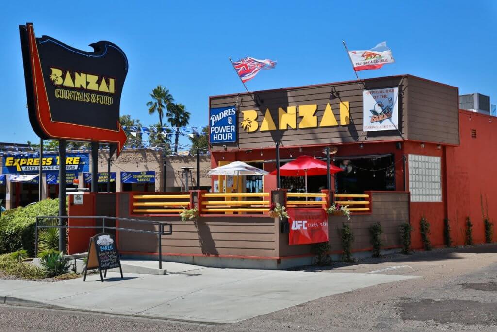 Bares em San Andrés: Banzai