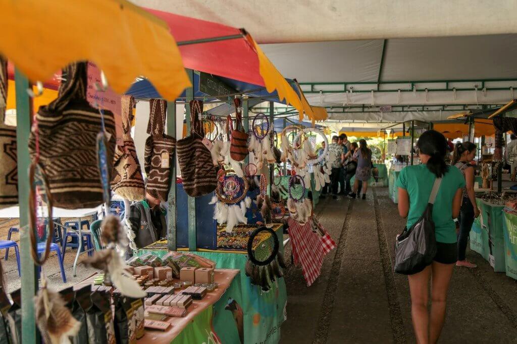 Mercado de San Alejo em Medellín