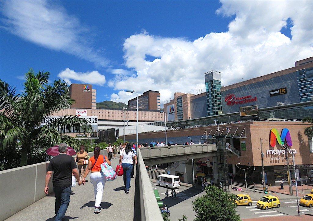 Shopping Mayorca em Medellín