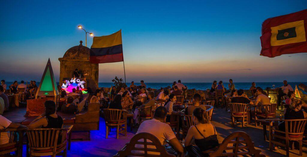 Cafe del Mar em Cartagena