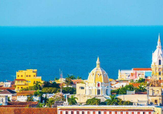 Remessas internacionais para Cartagena