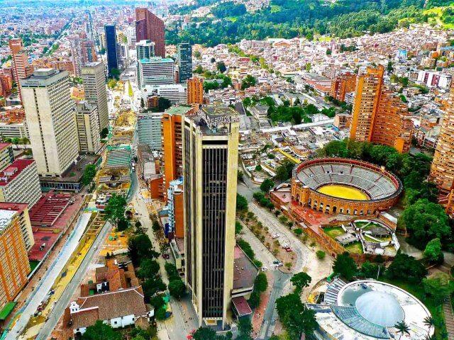 Remessas internacionais para Bogotá