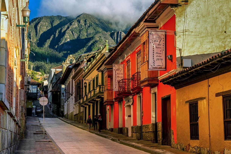 Passeio por La Candelaria em Bogotá