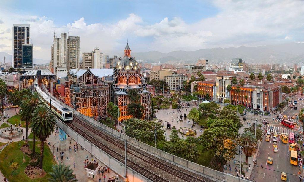 Região central de Medellín