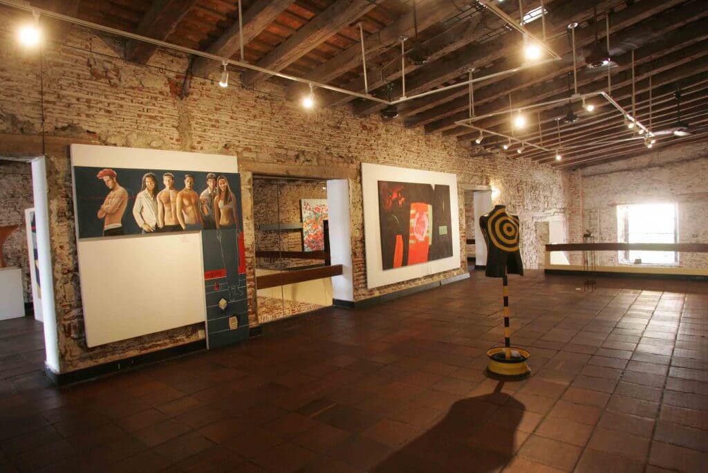 Arte moderna em Cartagena