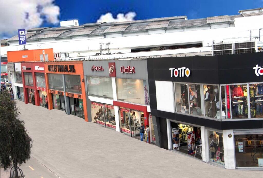 Outlet de las Americas em Bogotá