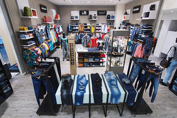 Outlets em Bogotá - Lojas de roupas
