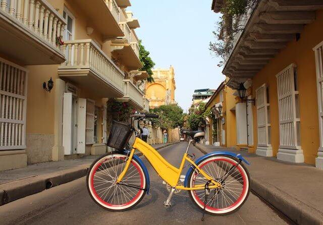 Bicicleta em Cartagena