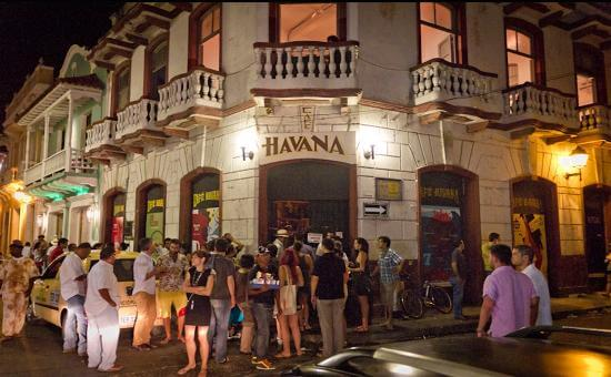 Bar Cafá Havana em Cartagena