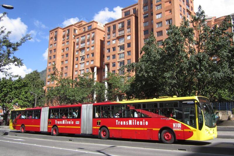 Transmilenio em Bogotá