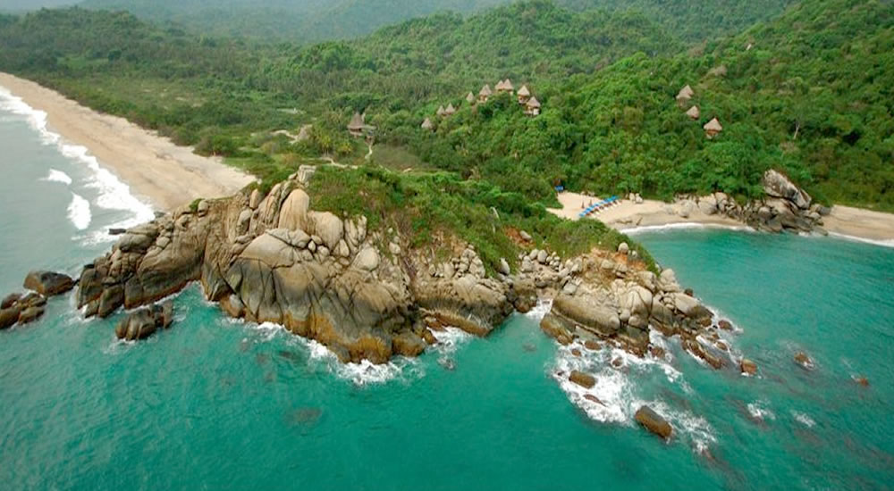 Praias do Parque Nacional Natural de Tayrona