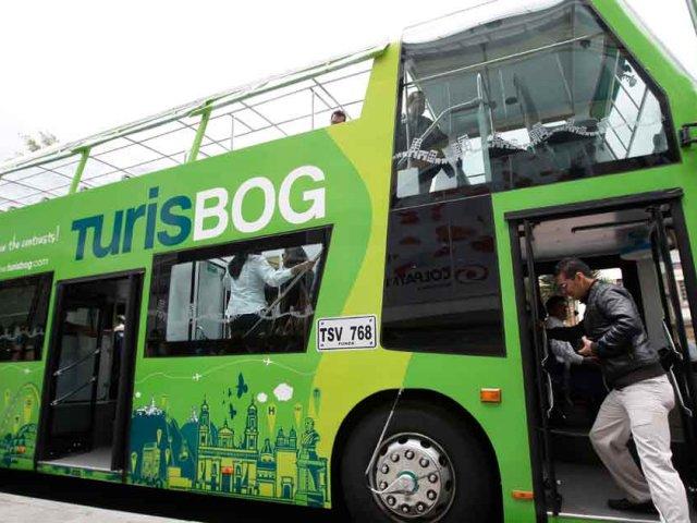 Passeio de ônibus turístico em Bogotá