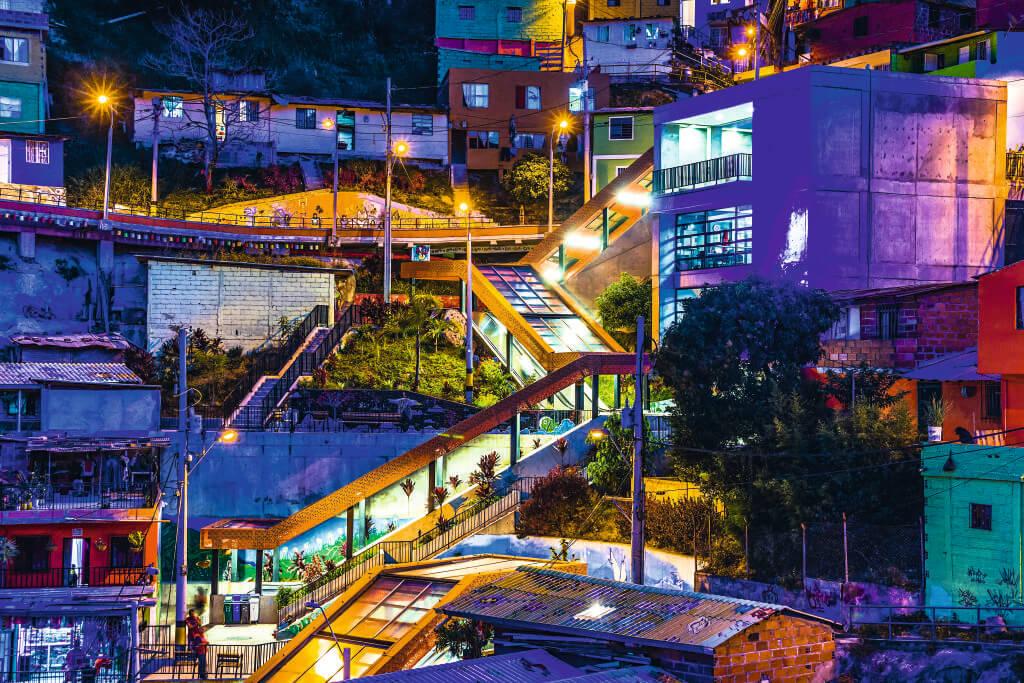Ano Novo em Medellín