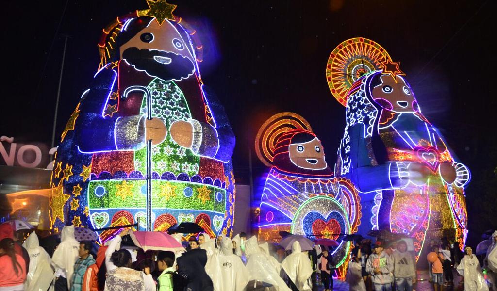 Natal em Medellín, na Colômbia