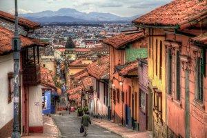 La Candelaria na Colômbia