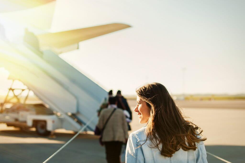 Viagem à Colômbia de avião