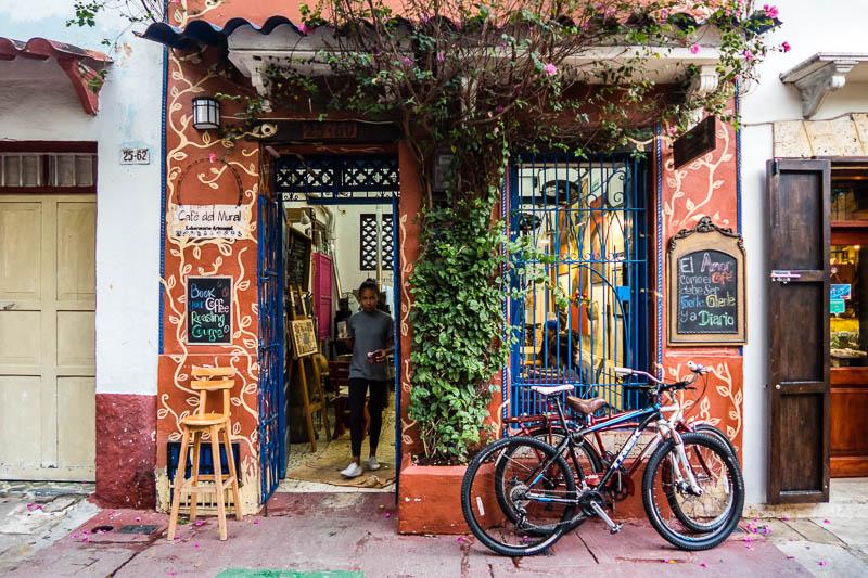 Cafe del Mural em Cartagena