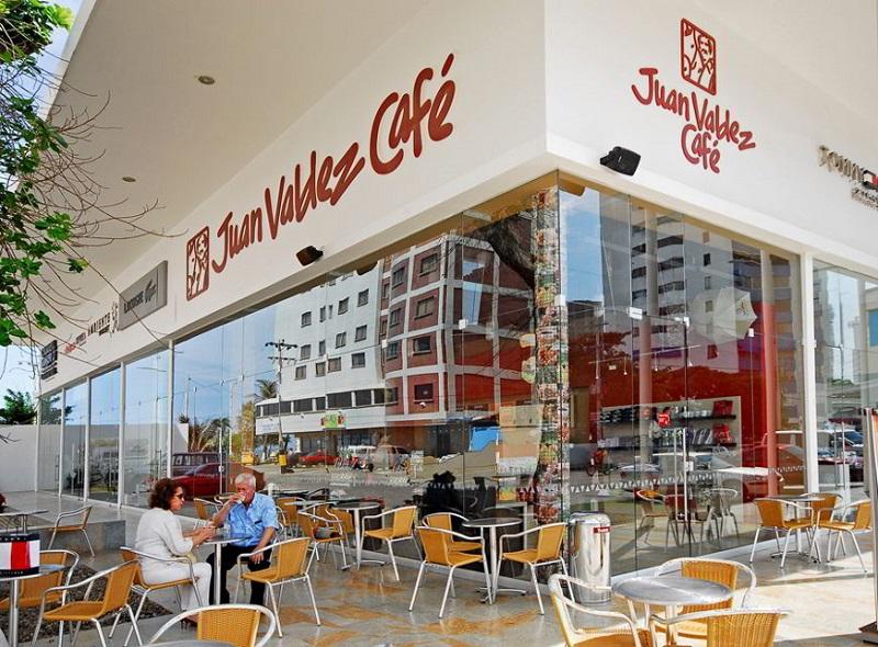 Cafe Juan Valdez em Cartagena