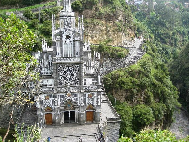 Santuário de Las Lajas em Ipiales
