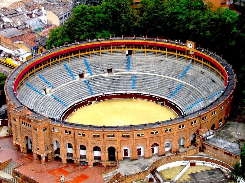 Arena de touradas de Santamaría (ou Plaza de Toros) em Bogotá
