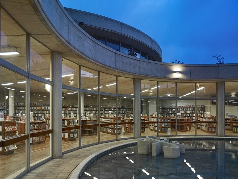 Biblioteca do Centro Cultural Gabriel García Marquez em Bogotá