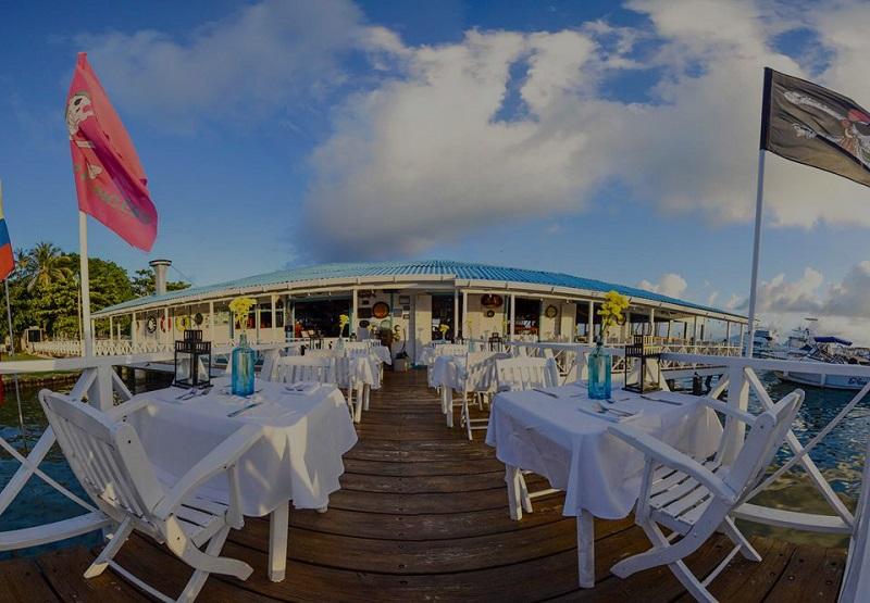 Restaurante La Regatta em San Andrés