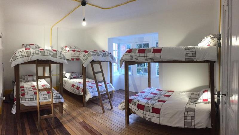Quarto do Maité Hostel em Bogotá