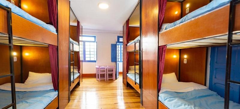 Quarto do Granada Hostel em Bogotá